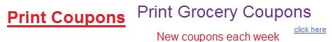 free printable coupons, grocery coupons, printable coupons