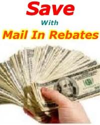 mail in rebates, rebate form