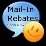 Shop with Rebates, Mail in rebates, internet rebates